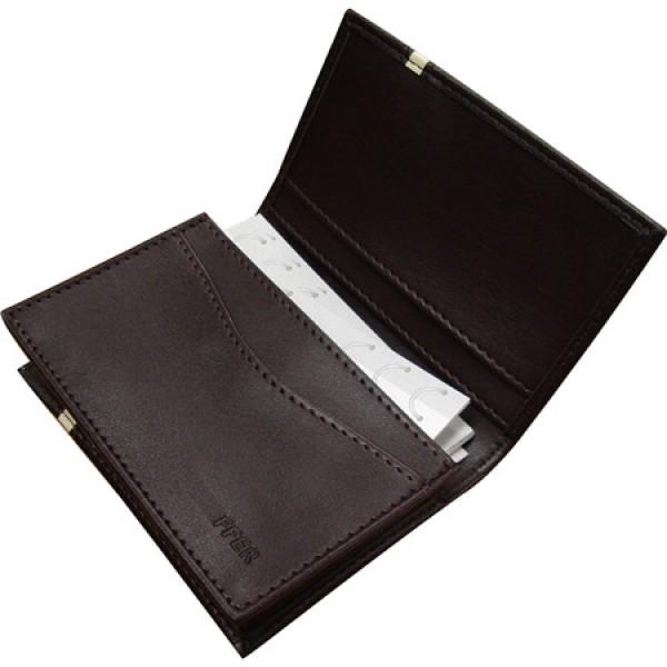 630-6 ซองหนังพรีเมี่ยม ใส่นามบัตร ของแถม