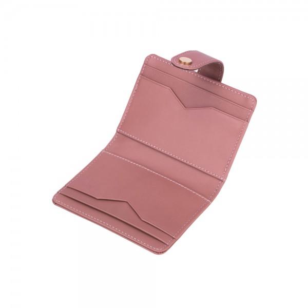 12671/1 : กระเป๋าเก็บนามบัตรหนังแท้ 8 ช่อง