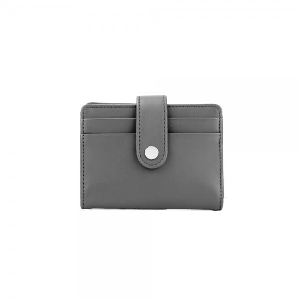 12671/1 : ซองนามบัตรหนัง ช่องใส่บัตรหน้าหลัง