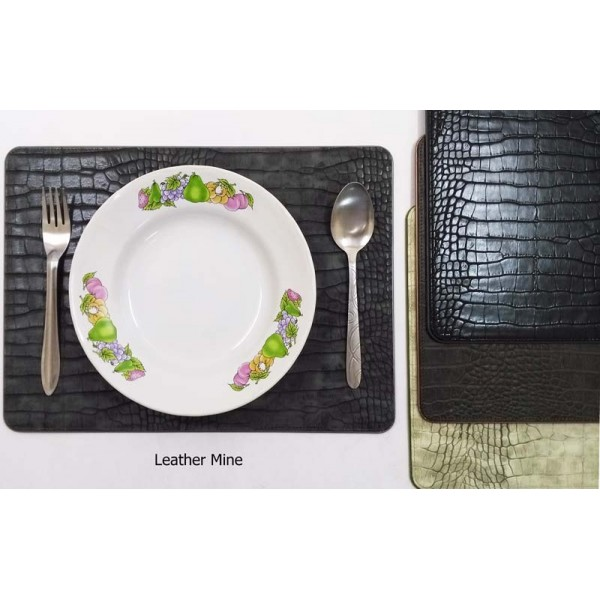 11977 faux crocodile place mat