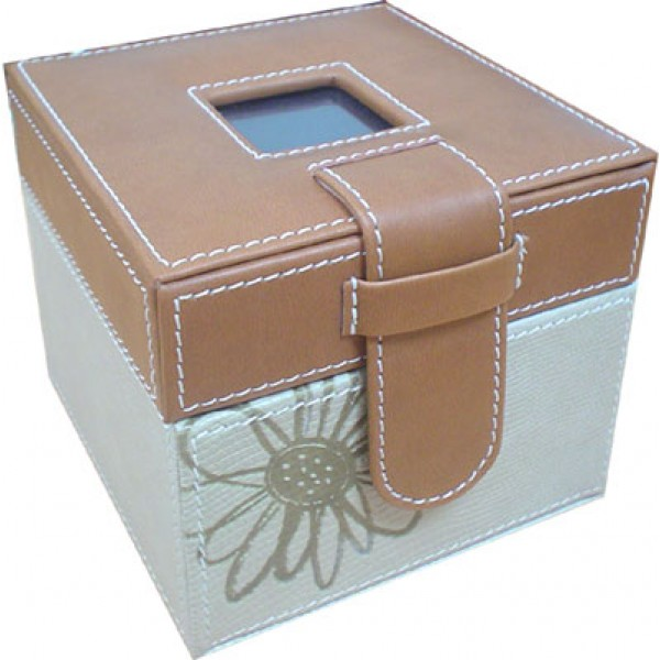 กล่องหนังใส่รูปภาพ Monaliza ไซซ์เล็ก