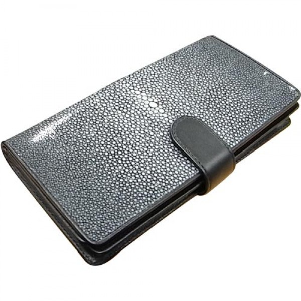 Long Wallet : Black Stingray