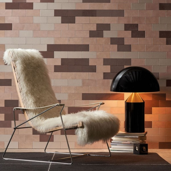 Leather Wall Decoration Brown